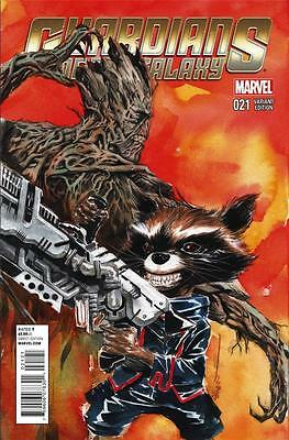 Guardians Of The Galaxy #21 Dustin Nguyen Variant Cover Marvel Comics