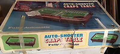 Vintage auto shooter craps table  top game