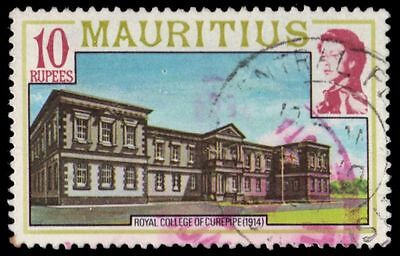 """MAURITIUS 461 (SG546) - History """"Opening of Curepipe College, 1914"""" (pf70224)"""