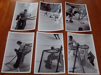 WHA  chicago cougars vs  6 photos 1970's lot # 13