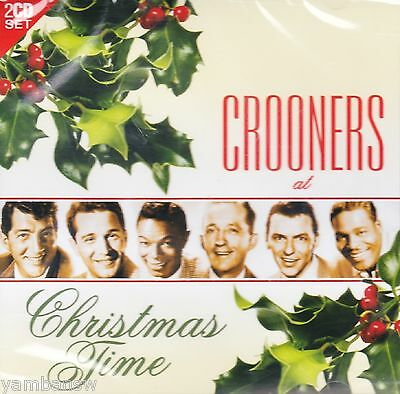 Crooners At Christmas Time * Various Artists * New & Sealed 2 Cd Set