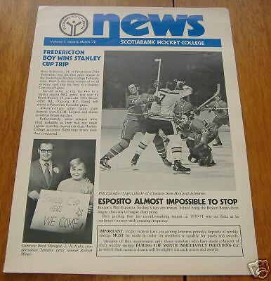 scotia bank hockey college news 1972 vol 1 issue 5