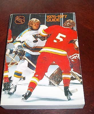 Official NHL  Guide 1976-77 Gary Unger # 2