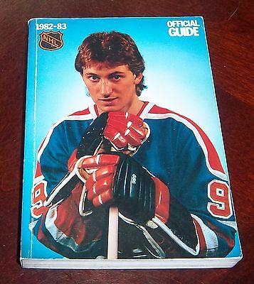 Official NHL  Guide 1982-83 Wayne Gretzky