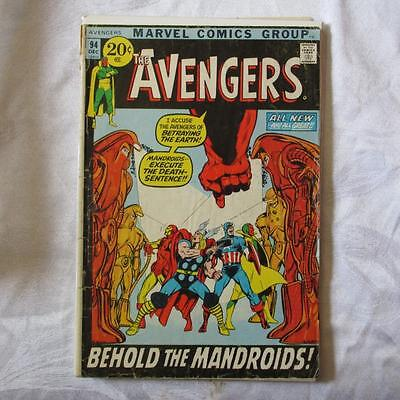Avengers 94 GD/VG Adams art SKU18649 25% Off!