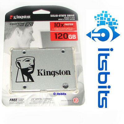 "KINGSTON UV400 SSDNOW 120GB SSD SATA3 6Gb/s 2.5"" 3 YEARS Wty SOLID STATE DRIVE"