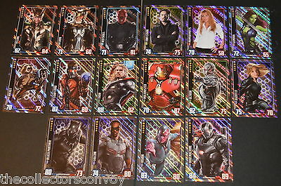 HERO ATTAX Marvel Cinematic Universe - Holographic Foil INDIVIDUAL card