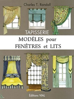 Tapestry, guide for decoration of windows, French book