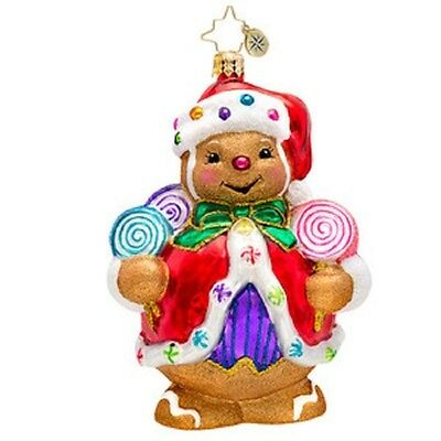"""Radko Gingerbread Ornament """"ginger Sweet Claus"""" #1017187 New * Free Shipping"""