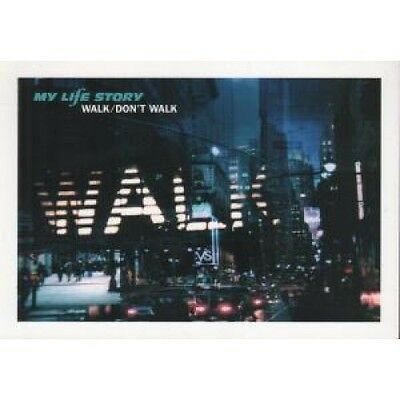 "MY LIFE STORY Walk Don't Walk CARD UK It 2000 6""X8.5"" Promo Postcard With"