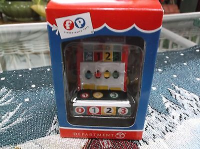 Department 56 Fisher Price Toys Cash Register  Ornament  Mib  2014