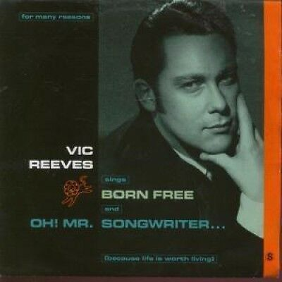 """VIC REEVES AND THE ROMAN NUMERALS Born Free 7"""" VINYL UK Island 1991 B/W Oh Mr"""