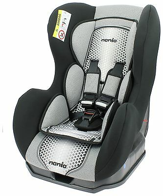 Nania Groups 0+ - 1 Cosmo  First Pop Black Booster Car Seat. From Argos on ebay