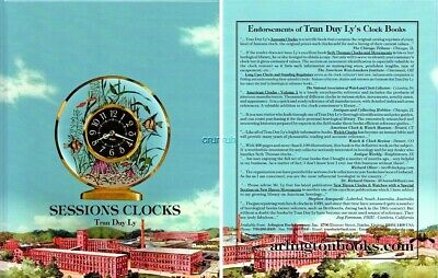 New mint SESSIONS CLOCKS by Tran Duy Ly w Price Booklet, Free Shipping!