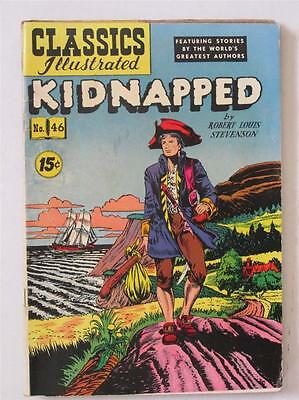 Classics Illustrated 46 Kidnapped HRN 87 VG SKU6330C 40% Off!