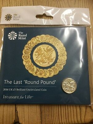 2016 The Last Round Pound £1 COIN Brilliant Uncirculated BUNC ROYAL MINT
