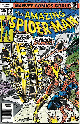 the Amazing Spider-Man Comic Book #183, Marvel Comics 1978 NEAR MINT