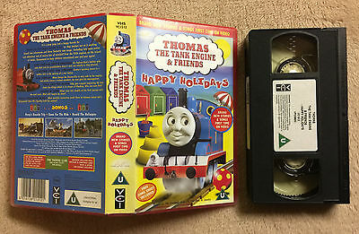 Thomas The Tank Engine & Friends - Happy Holidays - Vhs Video