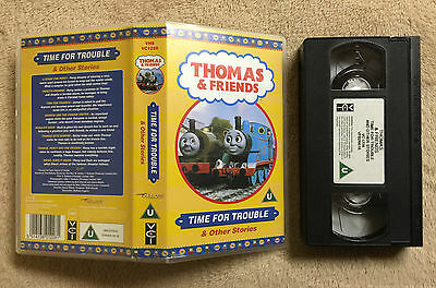 Thomas The Tank Engine & Friends - Time For Trouble - Vhs Video