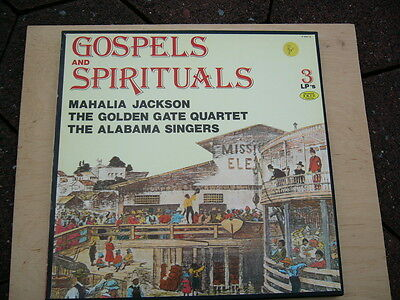 "GOSPELS and SPIRITUALS  3 LP""s Box + JOKER Produktion"
