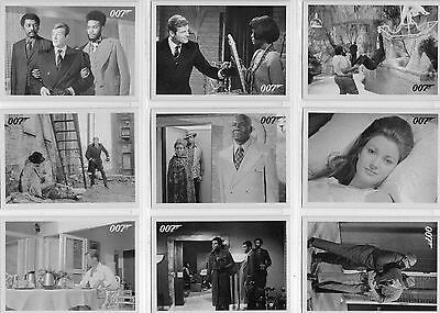 James Bond Archives - Live And Let Die - Lot Of 24 Different Throwback Cards NM