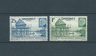 DAHOMEY - 1941 YT 149 à 150 - TIMBRES NEUFS** LUXE
