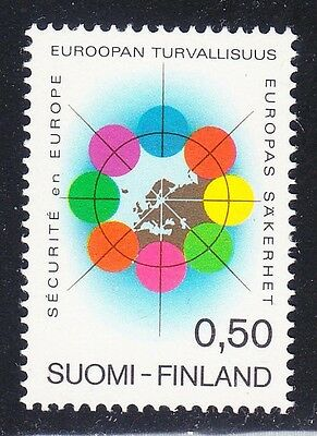 Finland 1972 MNH Mi 715 Sc 523 Conference for European Security & Cooperation