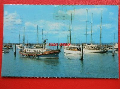 Postcard Isle Of Wight Yarmouth Harbour  Showing Lifeboat