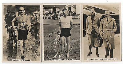 J.a.pattreiouex Manchester.sporting Events And Stars.  Cards 18,.25,34,40 & 49.