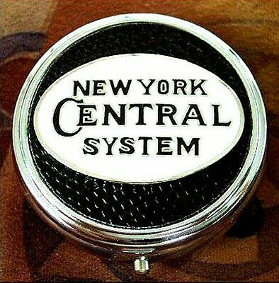 New York Central System Railroad Pill Box