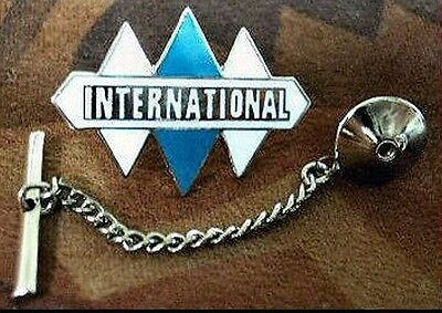 International Harvester Trucks Tie Tack and Chain