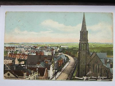 Bangor Down General View From.,height Upper Main Street., Into Hamilton Road