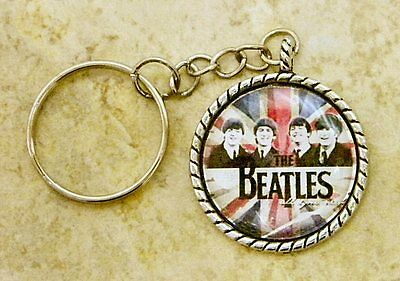 The Beatles Key Ring - Chain
