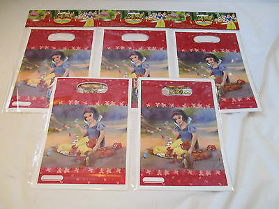 Snow White Party Loot Bags - 30 Pieces Disney Princess Birthday Treat Gift Bags