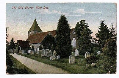 Hampshire,  WEST LISS,  Old Church,  nr. Petersfield, 1907