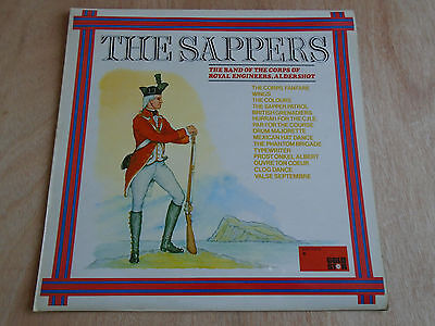 The Sappers: Band of Royal Engineers LP (Rediffusion Gold Star) 1977
