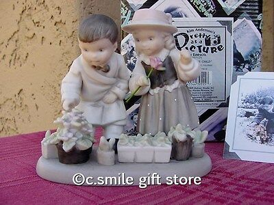 "PRETTY AS A PICTURE Kim Anderson ""Tuesday's Child - Boy & Girl"" #292125 Ret MIB"