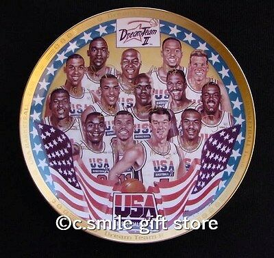 Sports Impressions *DREAM TEAM II* 1994 Basketball Gold Ltd Ed Signature Plate