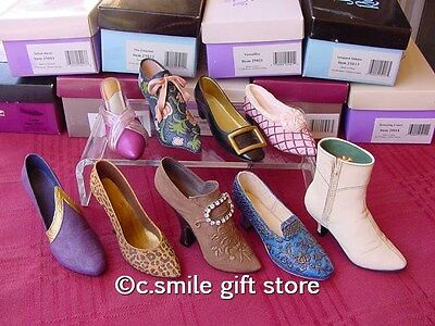 Just the Right Shoe ~ Raine *LOT of 9 Shoes w/FREE inStep Magazine!* MIB