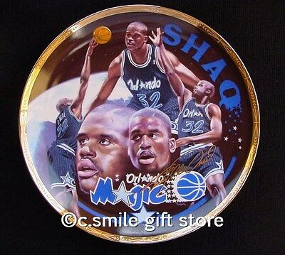 Sports Impressions *SHAQUILLE O'NEAL* NBA Basketball Gold LE Signature Plate