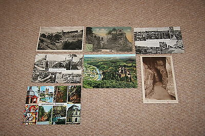 A collection of Luxemburg postcards from the 1900s.