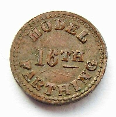 Victoria 1/16th Model Farthing