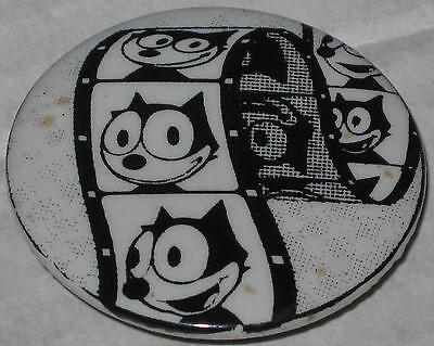 "Approx 1.75"" Felix the Cat Film Strip Pin - Has Spots"
