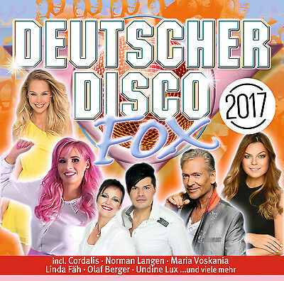 Deutscher Disco Fox 2017 von Various Artists 2CDs