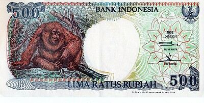 Indonesia 1992 500 Rupiah Currency