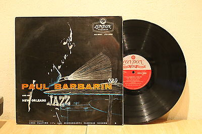 Paul Barbarin And Hid New Orleans Jazz 1956 London Rca Lp Ex+