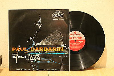 Paul Barbarin And His New Orleans Jazz 1956 London Rca Lp Ex+