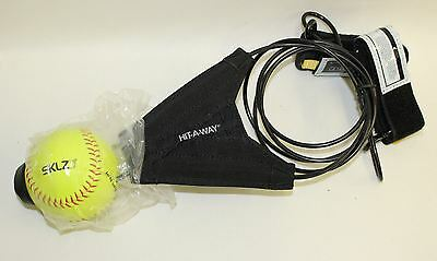 BNWT SKLZ Hit-A-Way Softball Swing Trainer High-Repetition Pitch Simulator
