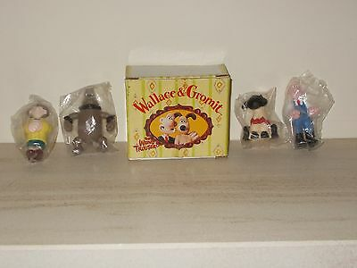 Wallace and Gromit mini collectable set
