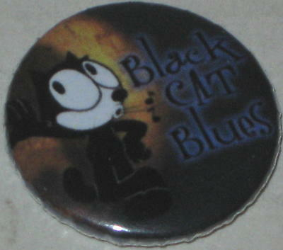 "Felix the Cat ""Black Cat Blues"" Pin 1"""
